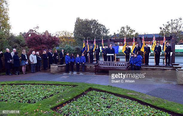 Prince William Duke of Cambridge Visits Living Memory And Centenary Fields Projects on November 10 2016 in London England Launched by His Royal...