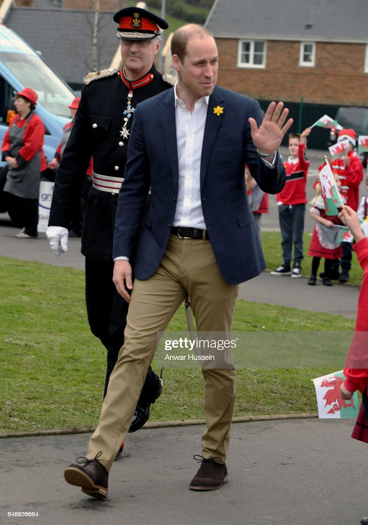 The Duke Of Cambridge Launches The SkillForce Prince William Award : ニュース写真
