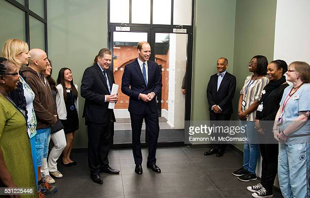 Prince William Duke of Cambridge visits The Passage an organisation which helps the homeless transform their lives on May 13 2016 in London England
