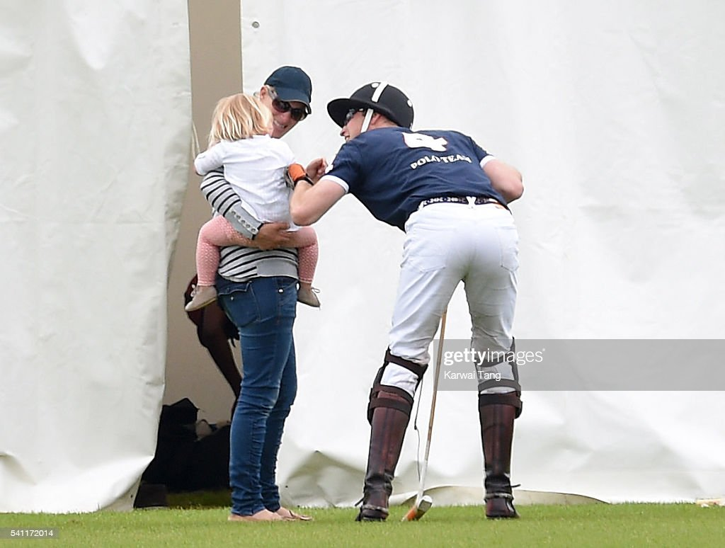 Prince William Takes Part In The Maserati Royal Charity Polo Trophy : News Photo