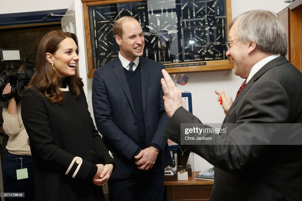 The Duke & Duchess Of Cambridge Visit Birmingham : News Photo
