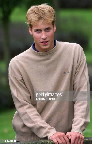 Prince William during a photocall at Highgrove Prince Charles' the Prince of Wales's residence near Tetbury in Gloucestershire Friday 29 September...