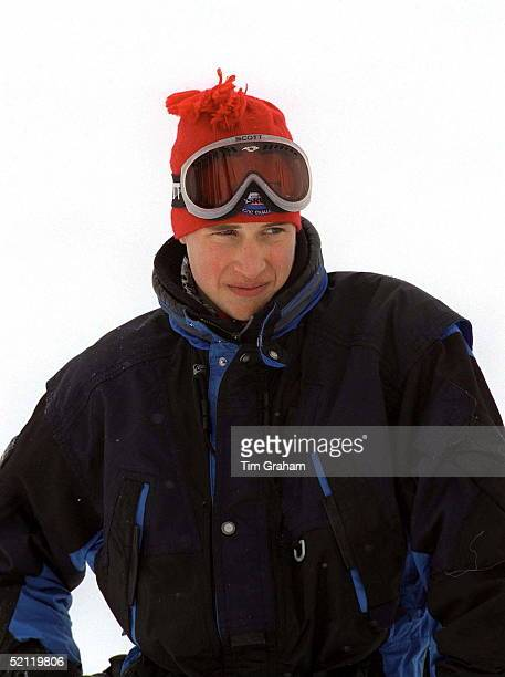 Prince William During His Skiing Holiday In Whistler Mountain Resort In British Colombia Canada