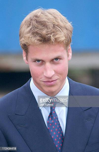 HRH Prince William during HRH Prince William And HRHPrince Charles On Their Royal Visit To Scotland in Glasgow Great Britain