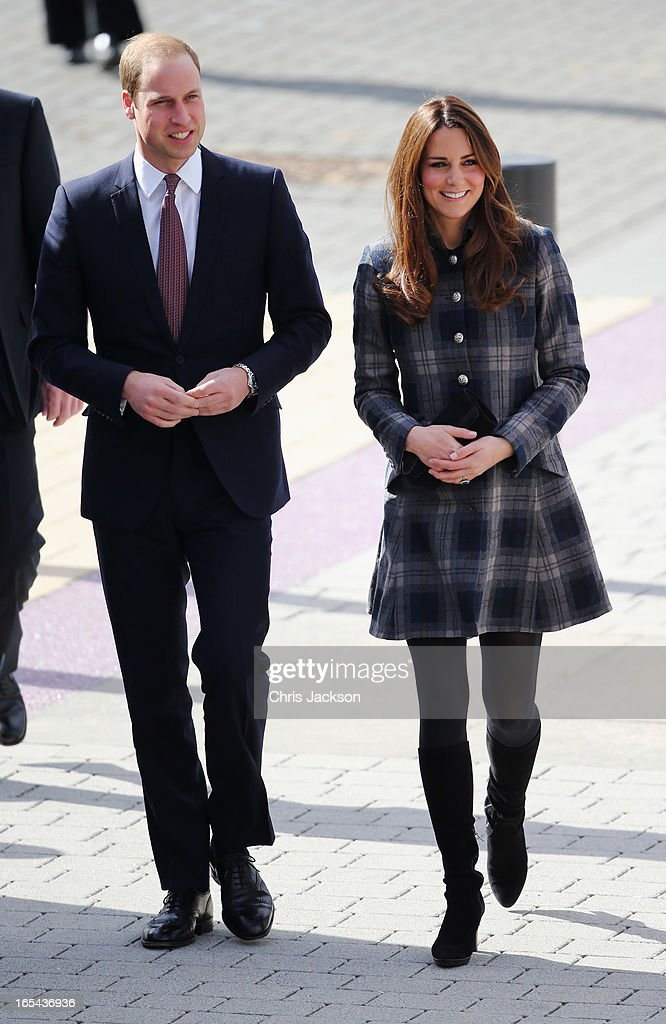 The Earl And Countess Of Strathearn Visit Scotland : ニュース写真
