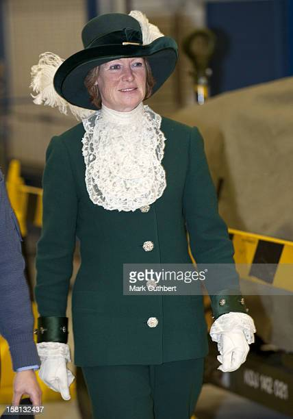 Prince William Honorary Air Commandant Royal Air Force Coningsby Was Accompanied By His Aunt Lady Sarah Mccorquodale Who Is Currently High Sheriff Of...