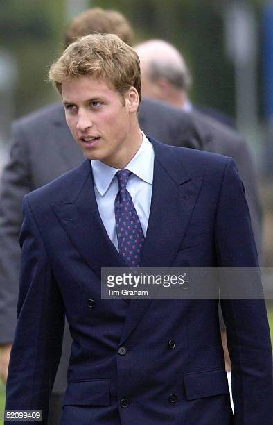 Prince William Looking Relaxed During His Visit To The Sighthill Community Education Centre