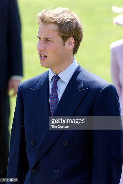 Prince William Looking Sad At The Opening Of The Fountain Built In Memory Of Diana Princess Of Wales In London's Hyde Park
