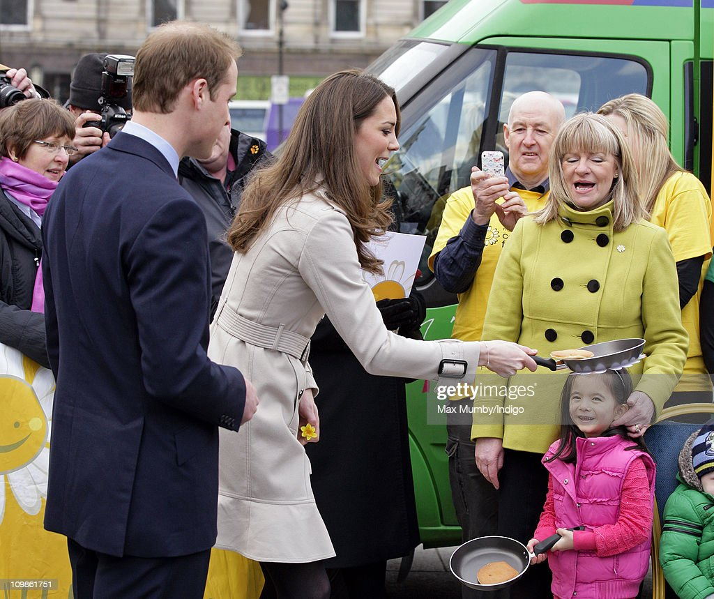 Prince William And Kate Middleton Visit Northern Ireland : News Photo