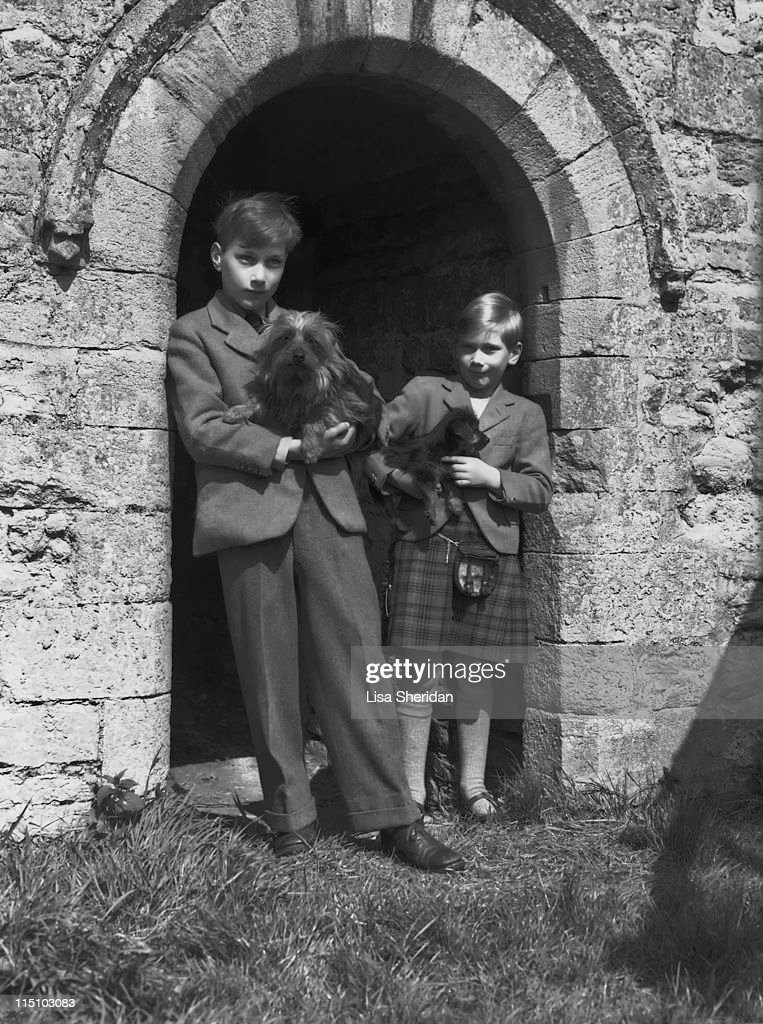 William And Richard Of Gloucester : News Photo