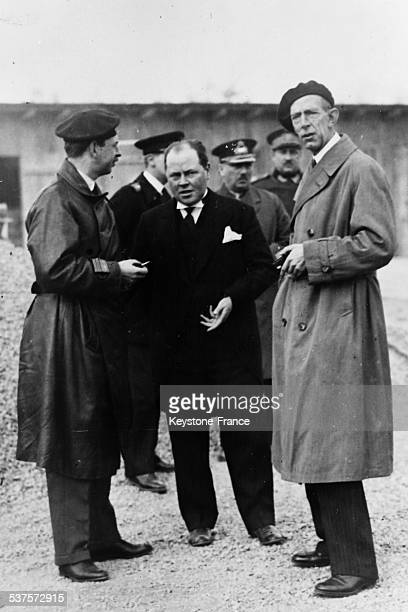 Prince William of Sweden during his visit to King Carol of Romania on November 10 1931 in Romania
