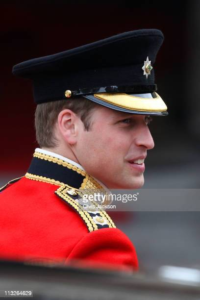Prince William of Wales arrives to attend his Royal Wedding to Catherine Middleton at Westminster Abbey on April 29, 2011 in London, England. The...