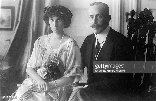 Prince William of Wied Prince of Albania who reigned briefly as sovereign of Albania from March 19140101 to September 19140101 with his wife Princess...