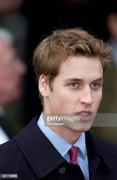 Prince William On Christmas Day At Sandringham