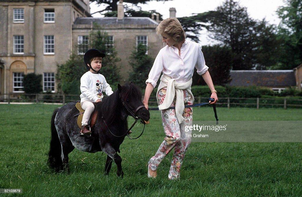 Diana And William Pony Highgrove : News Photo