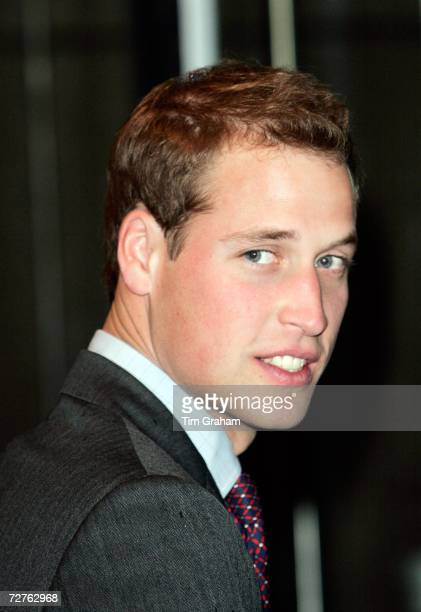 Prince William, patron of the Tusk Trust, visits the City inter-dealer broker firm ICAP on their Charity Day when all revenues and commisions are...