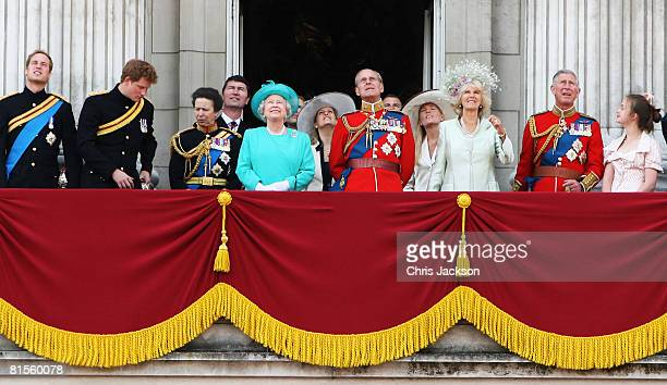 Prince William Prince Harry Princess Anne Princess Royal HRH Queen Elizabeth II Sophie Countess of Wessex Prince Philip Duke of Edinburgh Autumn...