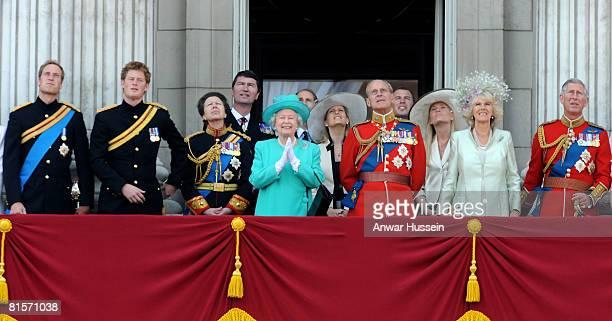 Prince William Prince Harry Princess Anne Princess Royal Queen Elizabeth II Sophie Countess of Wessex Prince Philip Duke of Edinburgh Autumn Kelly...