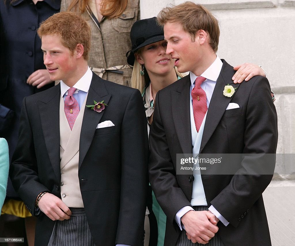 Prince William, Prince Harry & Zara Phillips Attend The