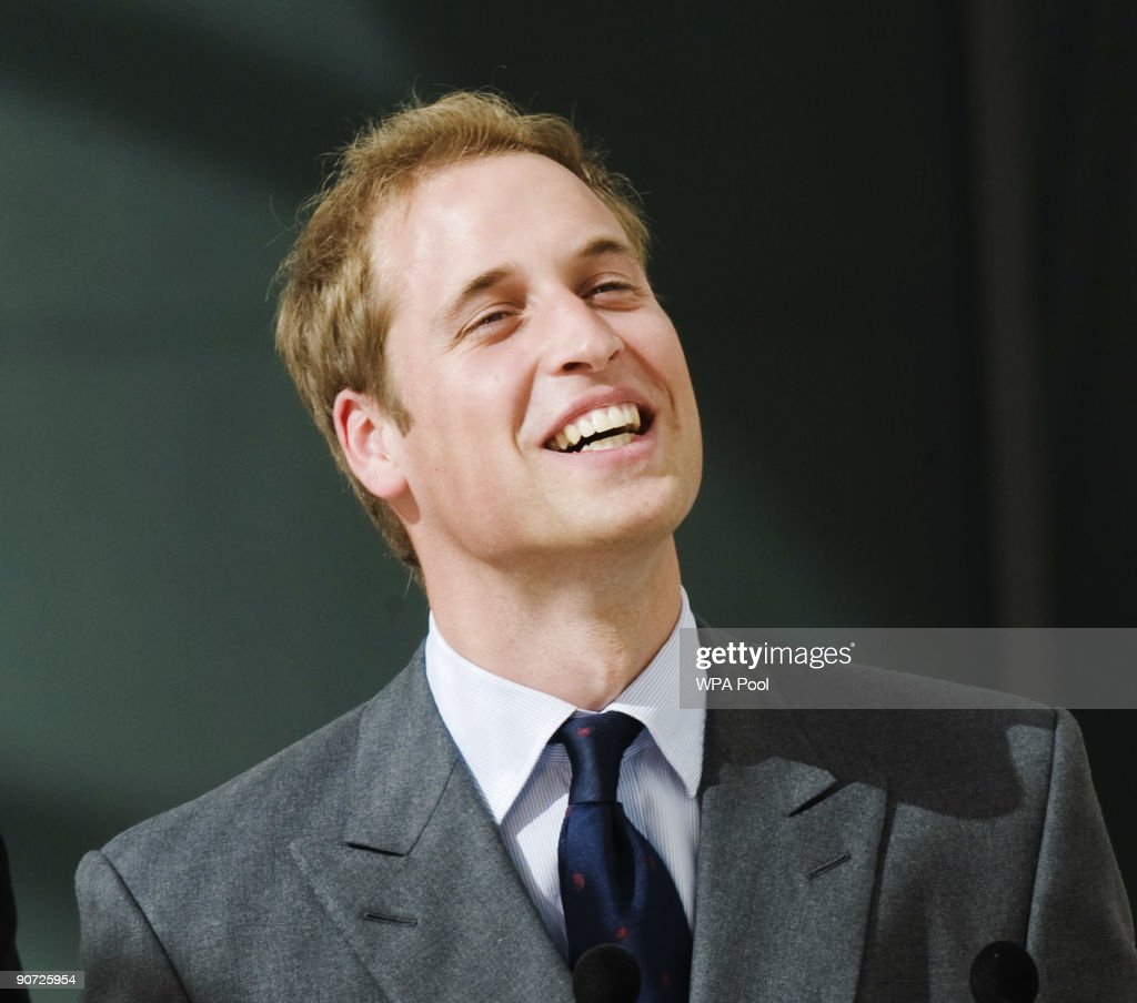 Prince William smiles during a visit to open The New Darwin Centre at The Natural History Museum on September 14, 2009 in London, England. Britain's Prince William joined Sir David Attenborough on Monday to open the GBP 78 million centre based around a 65 metre long, eight storey high cocoon contains a state-of-the-art research and exhibition facility named after the father of the theory of evolution. Some 200 scientists work in the new building that also houses 17 million plant and insect specimens.