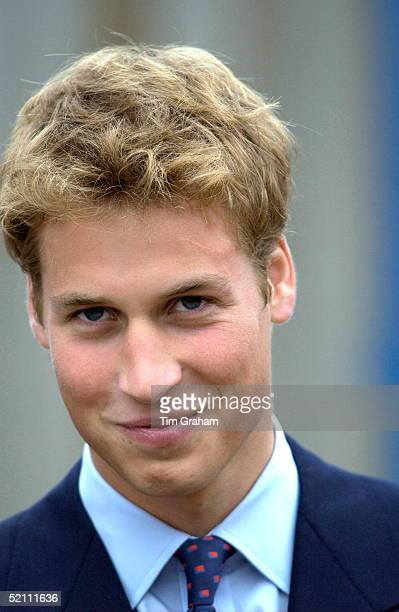 Prince William Smiling During His Visit To Scotland Before Starting University