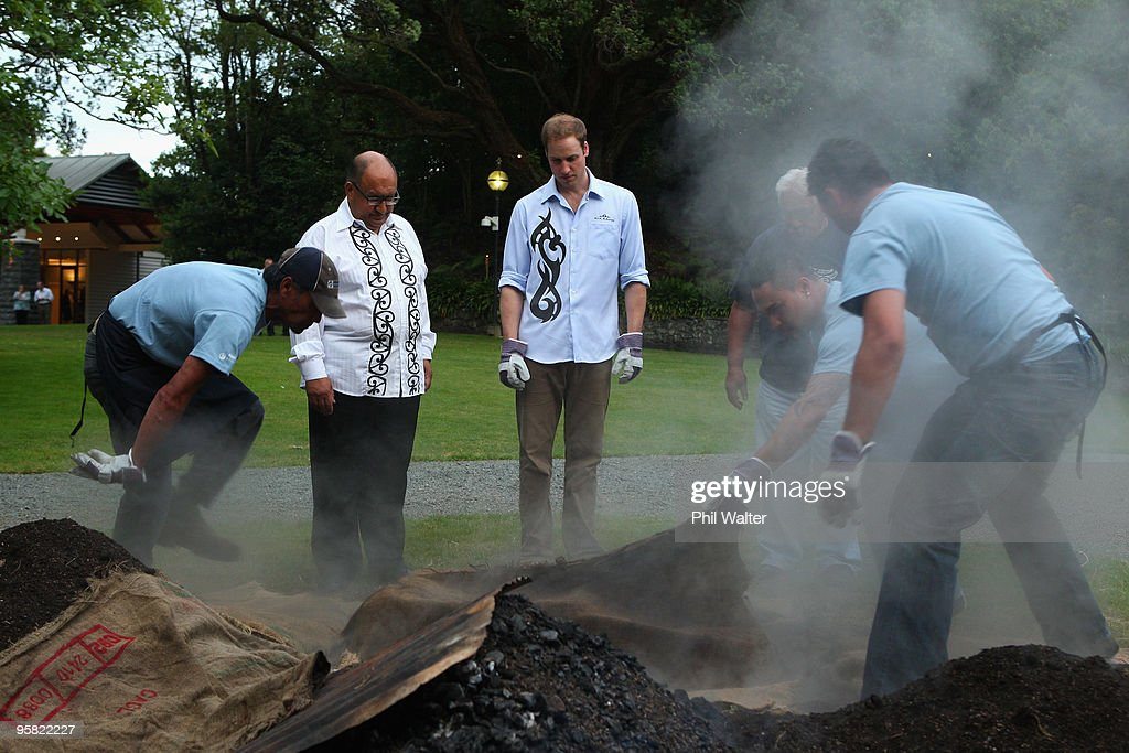 Prince William Visits New Zealand - Day 1