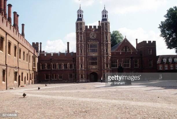 Prince William Starts At Eton School Berkshire