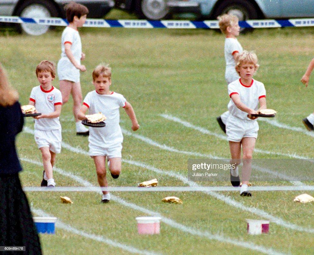 Prince William School Sports Day : News Photo