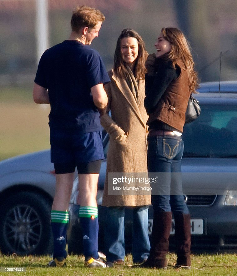 Kate Middleton Joins Prince William At Eton College For Sporting Occasion : News Photo