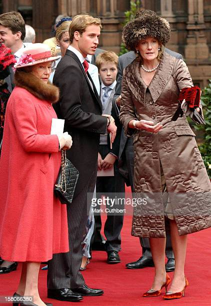 Prince William The Duchess Of Westminster Attend The Wedding Of Lady Tamara Katherine Grosvenor Edward Van Cutsem At Chester Cathedral