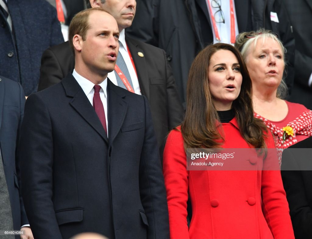 Prince William and his wife Catherine in Paris : News Photo