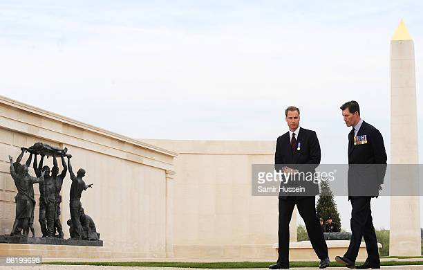 Prince William visits the National Memorial Arboretum to launch the NMA Future Foundations Appeal on April 24, 2009 near Lichfield, England.