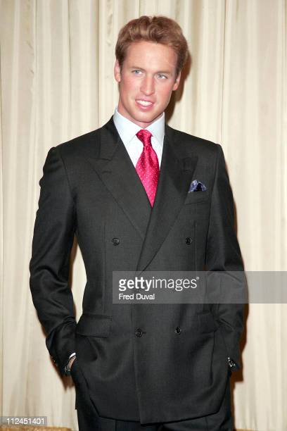 Prince William waxwork during Prince William Waxwork Unveiled at Madame Tussauds in London August 3 2005 at Madame Tussauds in London Great Britain