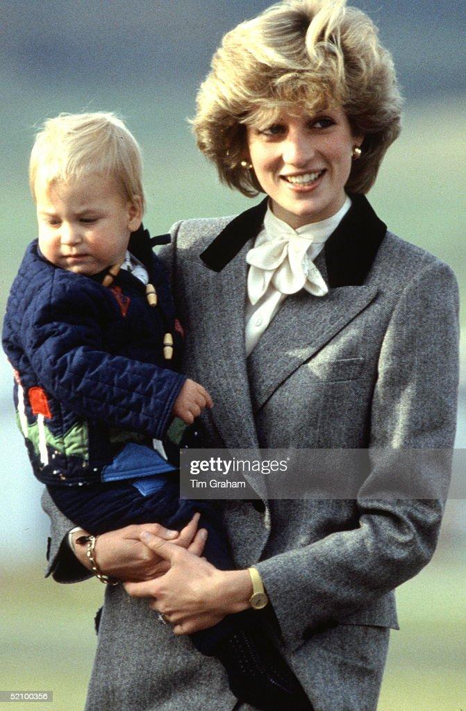 Diana William Holiday : News Photo
