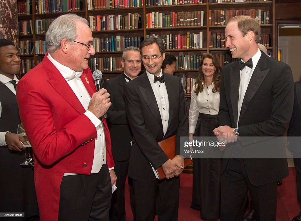 Duke Of Cambridge Presents The Chatham House Prize 2014 : News Photo
