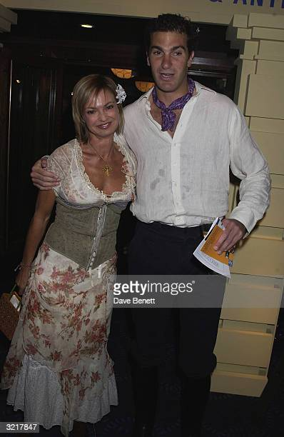 Prince William's friend and mentor Edward Van Custem with Maya Shlomberg at the Grosvenor House Antiques Fair Charity Gala The patron was Elizabeth...
