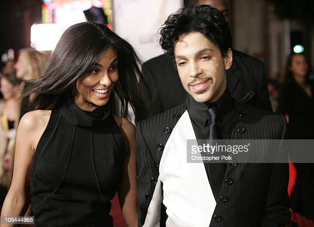 Prince with wife Manuela Testolini during 'Ocean's Twelve' Los Angeles Premiere Arrivals at Grauman's Chineese Theater in Los Angeles California...