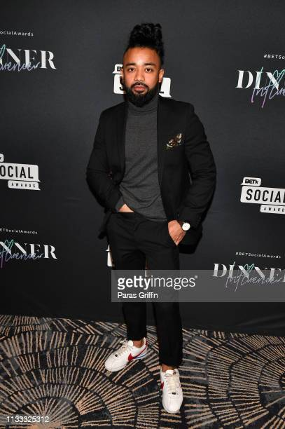 Prince Zee attends 2018 BET Social Awards Dinner at TWELVE Atlantic Station on March 02 2019 in Atlanta Georgia