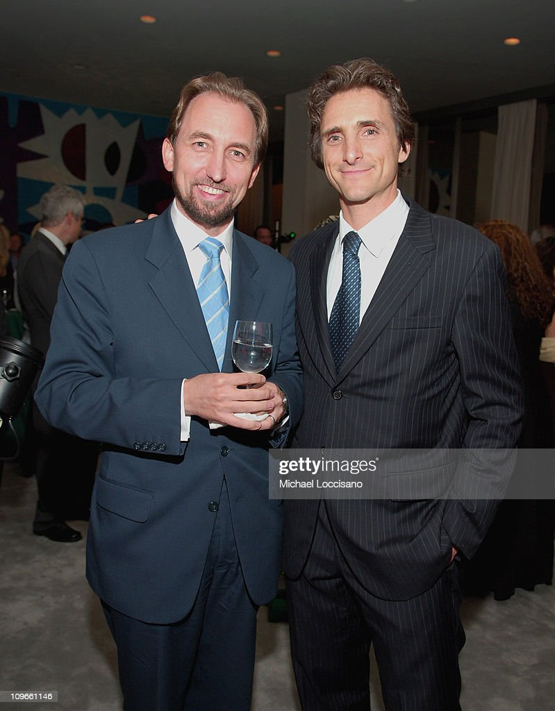 H.R.H. Prince Zeid Ra'ad Zeid Al-Hussein and Lawrence Bender, Producer