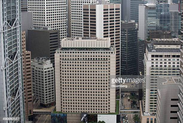 Prince's Building center managed by Hongkong Land Co stands in the Central district of Hong Kong China on Wednesday May 14 2014 Hong Kong is...