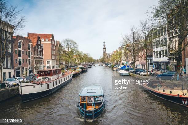 Prinselijk Canal In Amsterdam