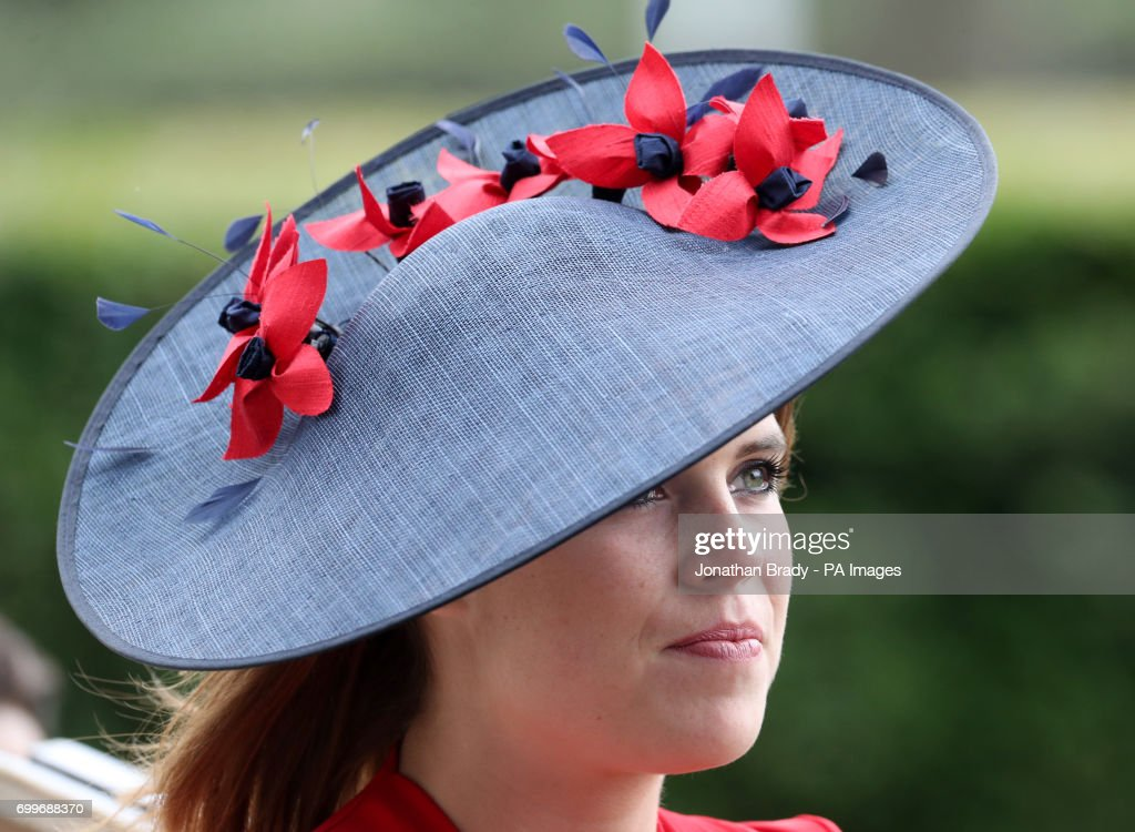 Princes Eugenie of York during day three of Royal Ascot at Ascot Racecourse.