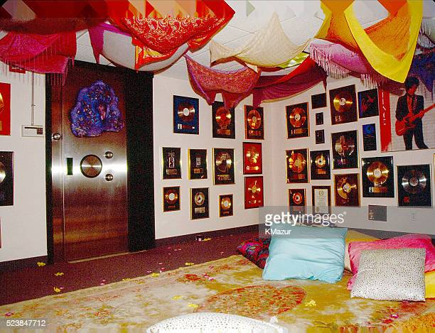 Prince's 'Foo Foo Room' which contained his awards and the vault which had his original master recordings circa 1990 at Paisley Park in Chanhassen...