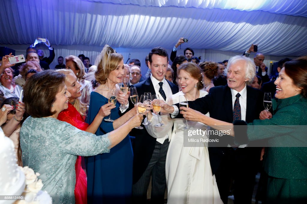 Wedding Of Prince Philip Of Serbia And Danica Marinkovic In Belgrade : News Photo