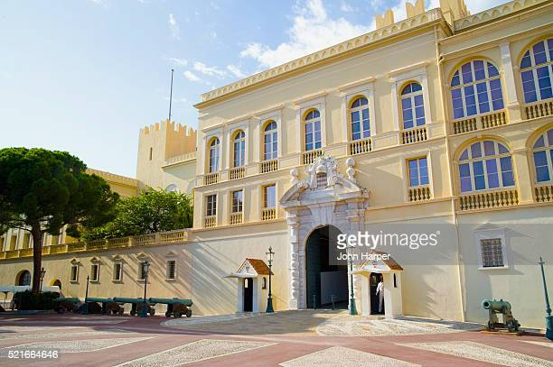 prince's palace monaco; monaco - monaco stock pictures, royalty-free photos & images