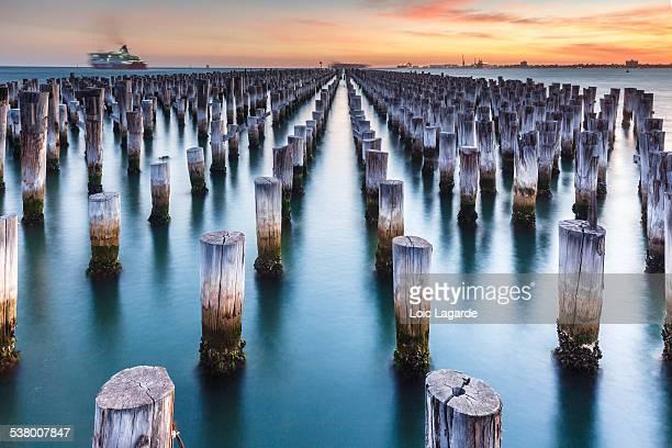 Princes Pier at Dusk in Melbourne