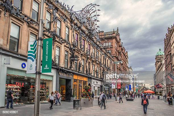 Princes Square is a shopping centre on Buchanan Street in central Glasgow Scotland