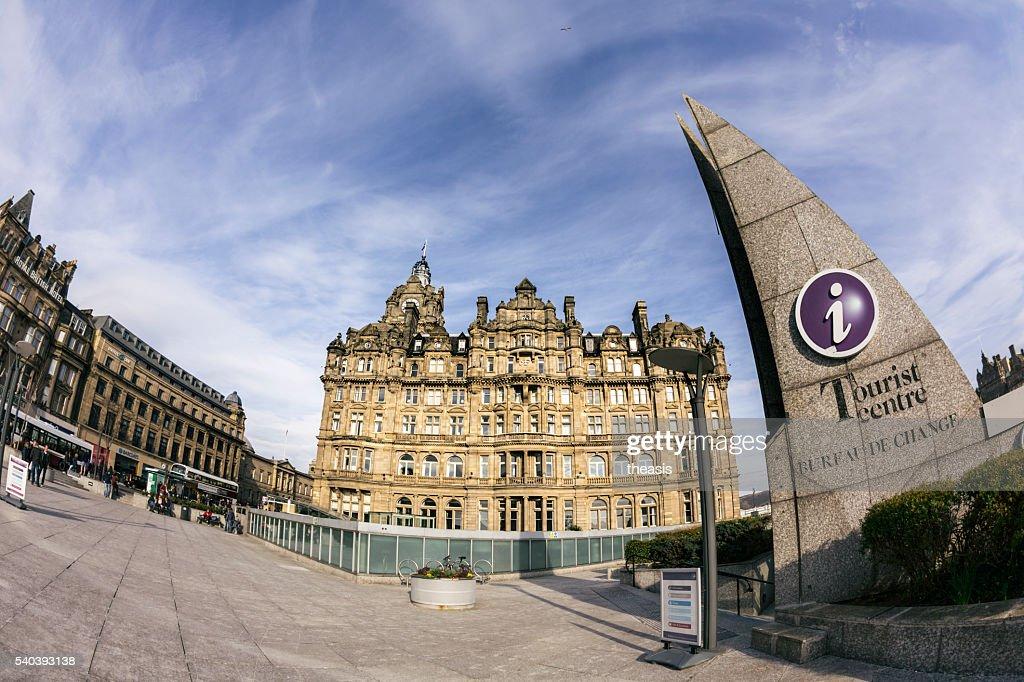 Princes Street, Edinburgh : Stock Photo