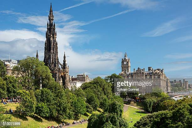 princes street gardens, edinburgh - day stock pictures, royalty-free photos & images