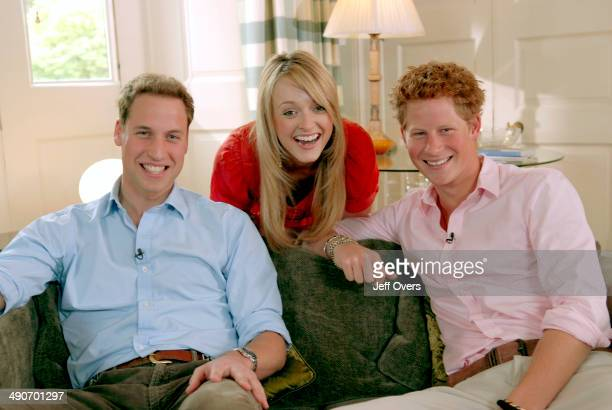 Princes William and Harry with Interviewer Fearne Cotton TX BBC ONE Friday 29th June 2007 Princes William and Harry discuss their mother's life and...